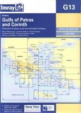 Gulfs of Patras and Corinth G13 - Imray