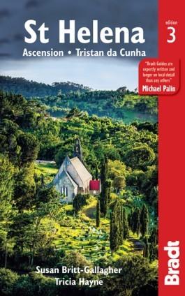 Szent Ilona, angol nyelvű útikönyv - Bradt