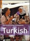 Turkish Phrasebook - Rough