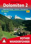Dolomites (2), hiking guide in German - Rother