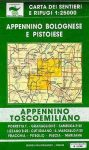Appennino Bolognese e Pistoiese - Appennino Toscoemiliano térkép (No 21/22) - Multigraphic