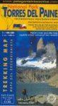 Torres del Paine térkép - Patagonia Interactiva