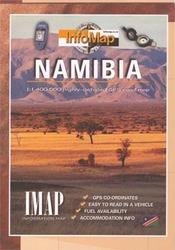 Namibia térkép - IMAP