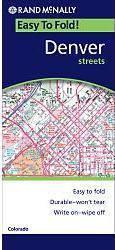 Denver, CO (EasyFinder) térkép - Rand McNally