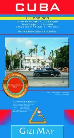 Kuba térkép - Gizimap