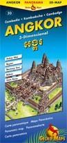 Angkor térkép - Gecko Maps