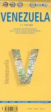 Venezuela térkép - Borch