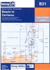 Bequia — Carriacou, Chart B31 - Imray