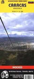 Caracas térkép - ITM