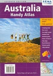 Ausztrália atlasz (Handy Atlas) - Hema
