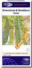 Greenstone & Routeburn Tracks térkép - Terralink
