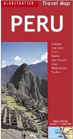 Peru - Globetrotter: Travel Map