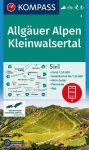 Allgäuer Alpen & Kleinwalsertal, hiking map (WK 3) - Kompass