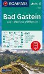 Bad Gastein turistatérkép (WK 040) - Kompass