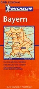 Bajorország - Michelin 546