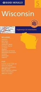 Wisconsin térkép - Rand McNally