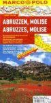 Abruzzo / Molise térkép - Marco Polo