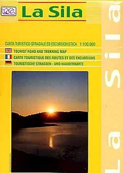 Sila-hegység térkép - LAC