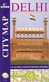 Delhi Street Atlas - Eicher Goodearth