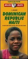 Dominika és Haiti térkép - Nelles