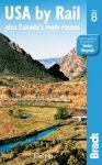 Amerikai Egyesült Államok vonattal, angol nyelvű útikönyv - Bradt