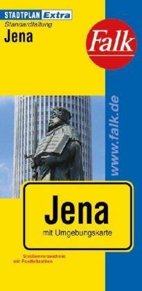 Jéna Extra várostérkép - Falk
