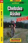 Chebsko, Ašsko kerékpártérkép (120) - ShoCart