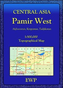 Pamir West regionális térkép - EWP