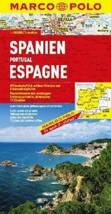 Spanyolország és Portugália térkép - Marco Polo