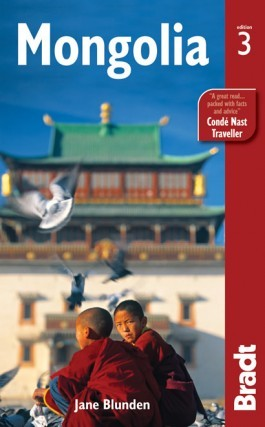 Mongólia, angol nyelvű útikönyv - Bradt