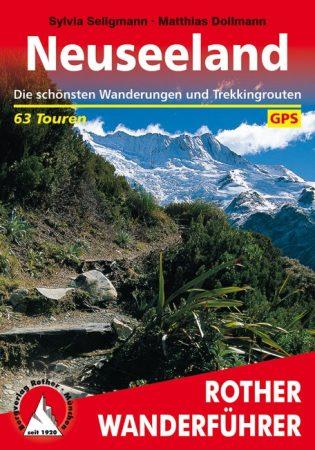Új-Zéland, német nyelvű túrakalauz - Rother