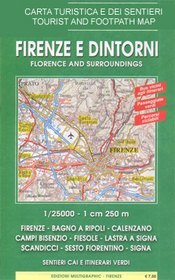 Florence and Environs térkép (No 510) - Multigraphic