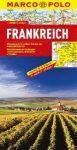 Franciaország térkép - Marco Polo