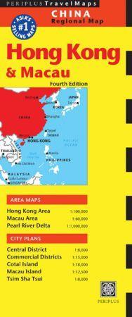 Hong Kong térkép - Periplus Editions