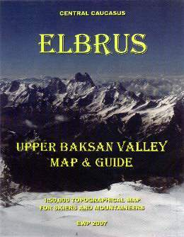 Elbrus (Upper Baksan Valley) térkép - EWP