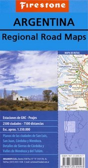 Buenos Aires Province and City térkép (No3.) - Firestone