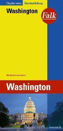 Washington várostérkép - Falk