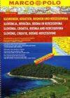 Slovenia, Croatia & Bosnia-Hercegovina, road atlas - Marco Polo
