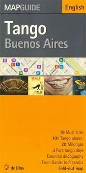 Buenos Aires tangó térképe - de Dios Editores