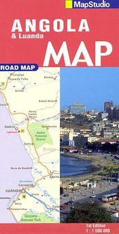 Angola & Luanda térkép - Map Studio