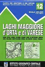 Lake Maggiore - Lake Orta - Lake Varase térkép (No 12) - IGC