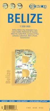Belize térkép - Borch
