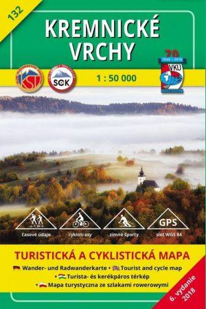 Körmöci-hegység turistatérkép (HM 132) - VKÚ