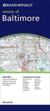 Baltimore, MD térkép - Rand McNally