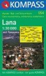 Lana turistatérkép (WK 054) - Kompass