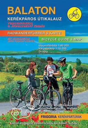 Balaton kerékpáros atlasz és útikalauz - Frigoria
