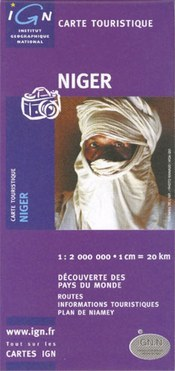 Niger térkép - IGN