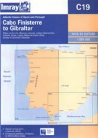 Cabo Finisterre to Gibraltar Chart C19 - Imray