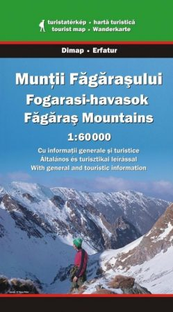 Făgăraş Mountains, hiking map - Dimap & Erfatur