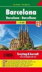 Barcelona zsebtérkép - Freytag-Berndt